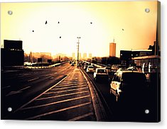 Ordinary Day Acrylic Print by Uros Zunic