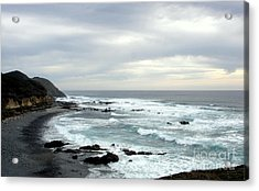 Oregon Coast  2 Acrylic Print by Tanya  Searcy