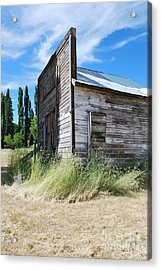 Oregon Ghost Town Acrylic Print by Jen Bodendorfer
