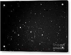 Orions Belt Acrylic Print by Stephen Whisman