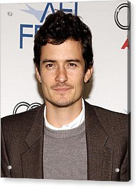 Orlando Bloom At Arrivals For Afi Fest Acrylic Print by Everett