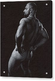 Oscuro 4 Acrylic Print by Chris  Lopez