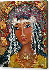 Our Lady Of Lost Causes Acrylic Print by Maya Telford