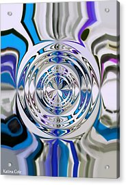 Out Of The Blue 2 Acrylic Print by Katina Cote