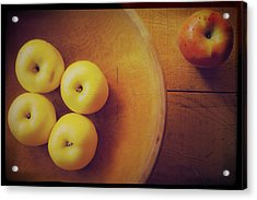 Out Of The Bowl Acrylic Print by Toni Hopper