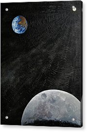 Outer Space Acrylic Print by Alan Schwartz
