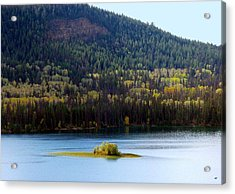 Outlook 18 Acrylic Print by Will Borden