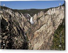 Overlook Falls Acrylic Print by Charles Warren