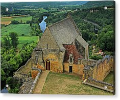 Overlooking The French Countryside Acrylic Print by Dave Mills