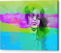 Ozzy Osbourne Acrylic Print by Naxart Studio