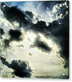 #painted #sky #instadroid #andrography Acrylic Print by Kel Hill