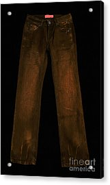 Pair Of Jeans 3 - Painterly Acrylic Print by Wingsdomain Art and Photography
