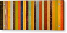 Panel Abstract Lll  Acrylic Print by Michelle Calkins