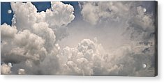 Panoramic Clouds Number 9 Acrylic Print by Steve Gadomski