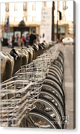 Paris Bikes Acrylic Print by Igor Kislev