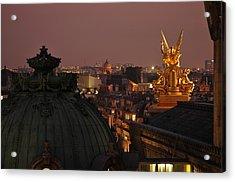 Paris Opera Acrylic Print by Peter Millar