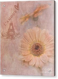 Parisian Oooo La La Acrylic Print by Betty LaRue
