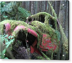 Parked For A While Acrylic Print by Shawn Hegan