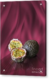 Passion Fruit Acrylic Print by Johnny Hildingsson