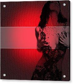 Passion Acrylic Print by Naxart Studio