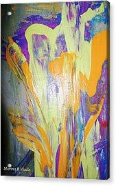 Passion Of The Mind Acrylic Print by Marina R Vladis