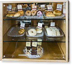 Pastry Items For Sale Acrylic Print by Andersen Ross