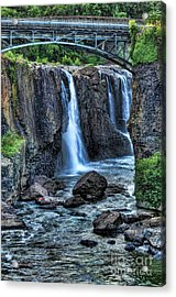 Paterson Great Falls Acrylic Print by Paul Ward