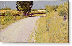 Path In The Country Acrylic Print by Charles Angrand