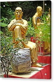 Hong Kong Acrylic Print featuring the photograph Patience Is Golden by Roberto Alamino