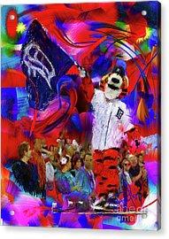 Paws  Acrylic Print by Donald Pavlica