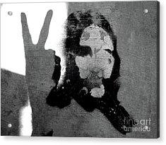 Peace Man Peace Acrylic Print by Joe Jake Pratt