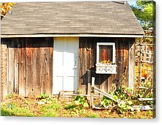 Peace Ranch Acrylic Print by Puzzles Shum