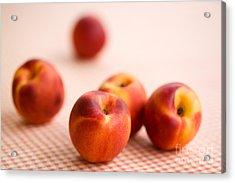 Peaches  Acrylic Print by Kati Molin