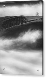Peak District Landscape Acrylic Print by Andy Astbury