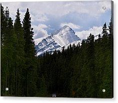 Peaking Peak Acrylic Print by Roderick Bley