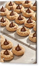 Peanut Blossom Cookies Acrylic Print by Will & Deni McIntyre