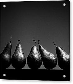 Pears Acrylic Print by Eddie O'Bryan