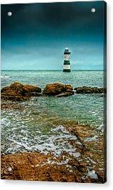 Penmon Point Acrylic Print by Adrian Evans