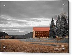 Pennsylvania Barn Acrylic Print by Randy Edwards