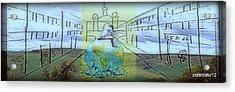 Perspective Bleak Acrylic Print by Paulo Zerbato