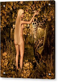 Persuaded Acrylic Print by Lourry Legarde