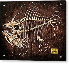 Pescado Seis Acrylic Print by Baron Dixon