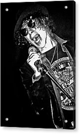 Peter Wolf Acrylic Print by Mike Martin