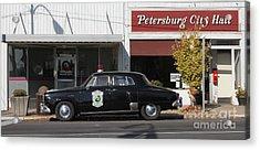 Petersburg Indiana Acrylic Print by Jack  R Brock