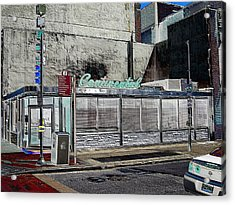 Philly Diner Acrylic Print by John J Murphy III