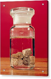 Phosphorus In A Jar Acrylic Print by Andrew Lambert Photography