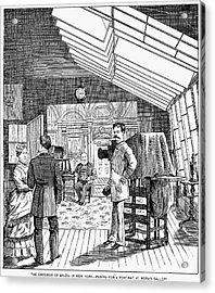 Photography Studio, 1876 Acrylic Print by Granger