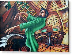 Piano Man 4 Acrylic Print by Bob Christopher