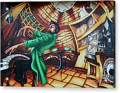 Piano Man Acrylic Print by Bob Christopher