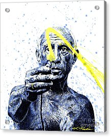 Picasso Acrylic Print by Chris Mackie